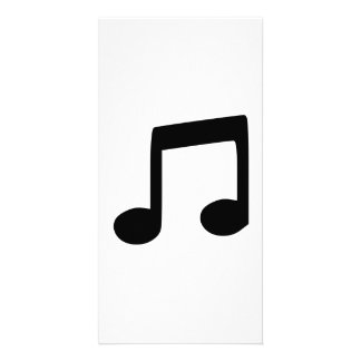 Music Note Photo Cards