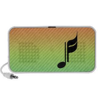 Music Note Speaker System
