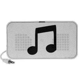 Music Note Mini Speakers