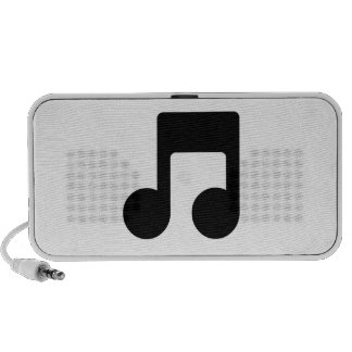 Music Note Travel Speakers