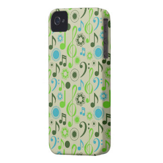 Music Notes and Clefs iPhone 4 Case-Mate Case