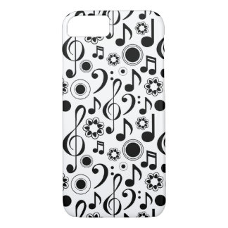 Music Notes and Clefs iPhone 7 Case