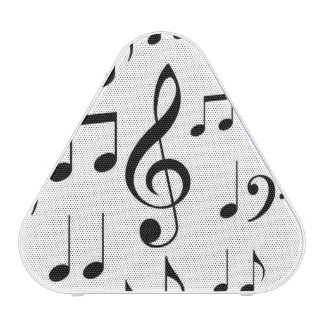 Music Notes B&W Portable Speakers Speaker