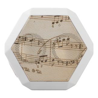 Music Notes Background White Boombot Rex Bluetooth Speaker