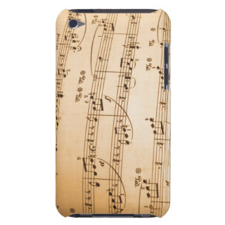 Music Notes Background iPod Touch Covers