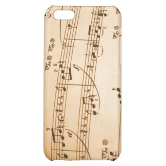 Music Notes Background iPhone 5C Cover