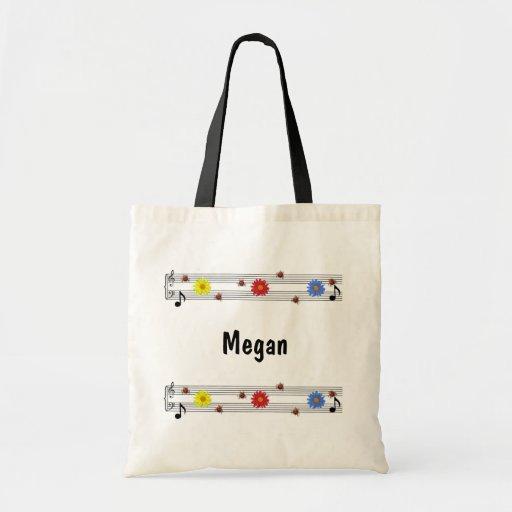 Music Notes Bag