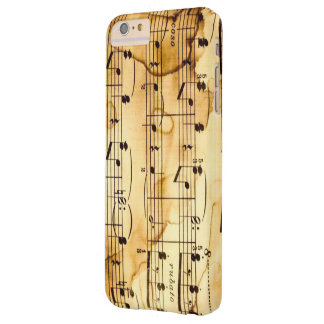 Music Notes Barely There iPhone 6 Plus Case