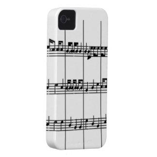 Music Notes BlackBerry Bold Case