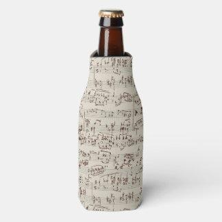 Music notes bottle cooler