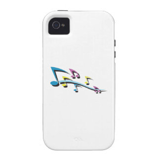 MUSIC NOTES VIBE iPhone 4 COVERS