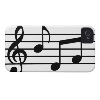 Music Notes Case-Mate iPhone 4 Cases