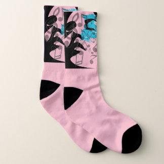 Music Notes Day Dream Socks