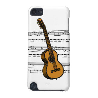Music Notes Guitar iPod Touch 5G Covers