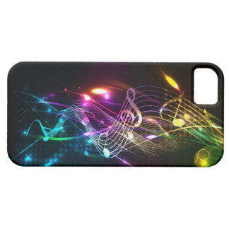 Music Notes in Color for Music-lovers Case For The iPhone 5