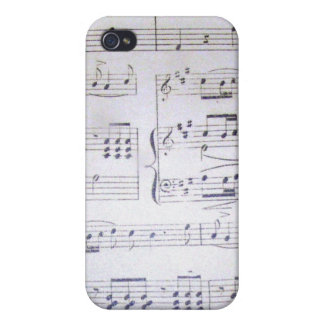 Music notes iPhone 4 cases