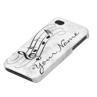Music notes iPhone 4/4S case