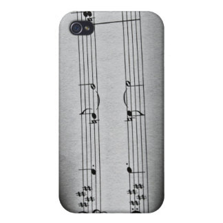 Music Notes Cases For iPhone 4