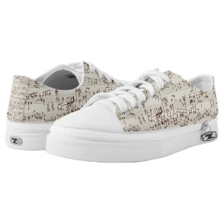 Music notes low tops