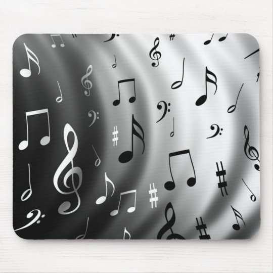 Music Notes Mouse Mat