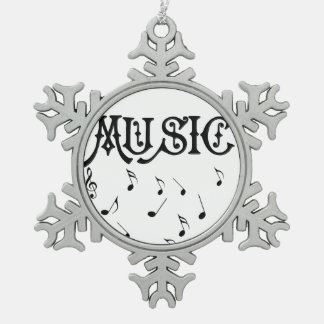 Music Notes Ornament Christmas Tree