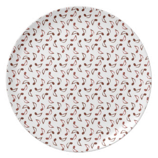 Music Notes Party Plates