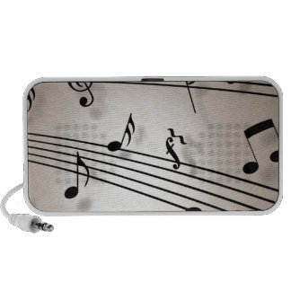 Music Notes - Sheet Music Portable Speakers