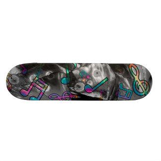 Music Notes Skateboard