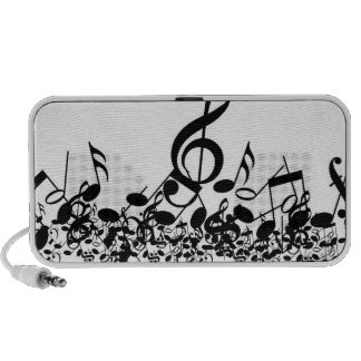 Music Notes Travel Speakers