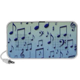 Music notes iPhone speakers