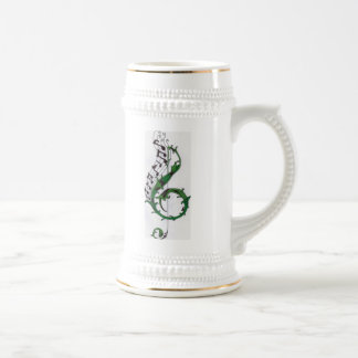 music notes stien coffee mug