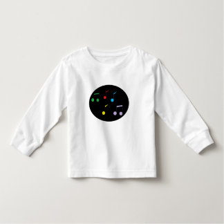 Music Notes Toddler Long Sleeve T-shirts
