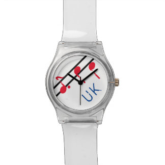 Music Notes U K May 28th Watch-Customize Watch