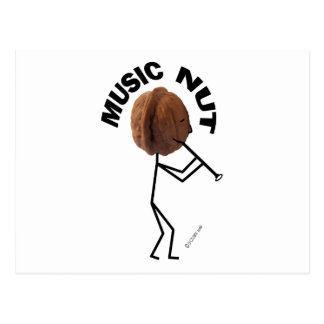 Music Nut Postcards