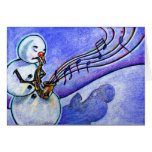 Music of Christmas Greeting Cards