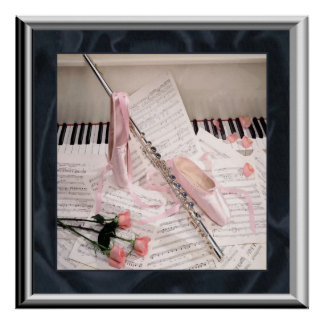 Music of Flute and Keys Poster