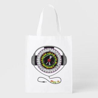Music of Life Reusable Grocery Bag