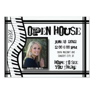 Music Open house invitation
