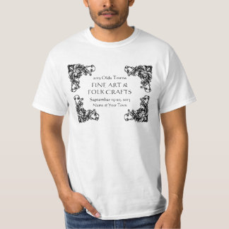 Music or Arts and Crafts Festival Add Event Name T Shirts