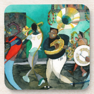 "Music Painting ""New Orleans Jazz"" Coaster"