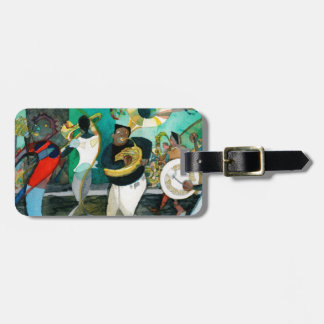 "Music Painting ""New Orleans Jazz"" Luggage Tag"