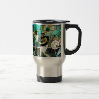 Music Painting New Orleans Jazz Mugs