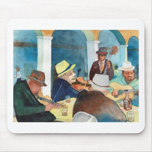 "Music Painting ""Vida de Musica"" Mouse Pads"