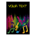 Music Party Background Posters