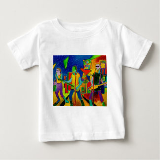 Music People by Piliero Baby T-Shirt