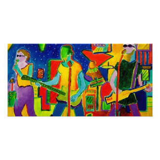 Music People by Piliero Personalized Photo Card