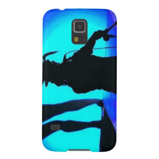 music phone covers with a woman singing in black a case for galaxy s5