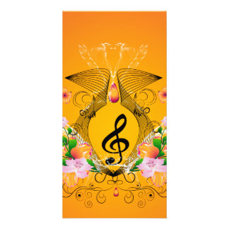 Music Customized Photo Card