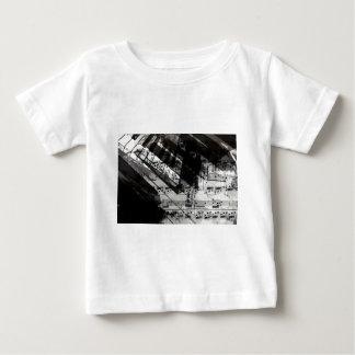 music, piano decor (10) baby T-Shirt