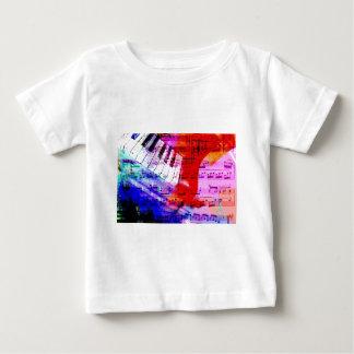 music, piano decor (11) baby T-Shirt